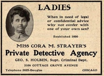 Ladies... Private Detective Agency | Herstory | Scoop.it