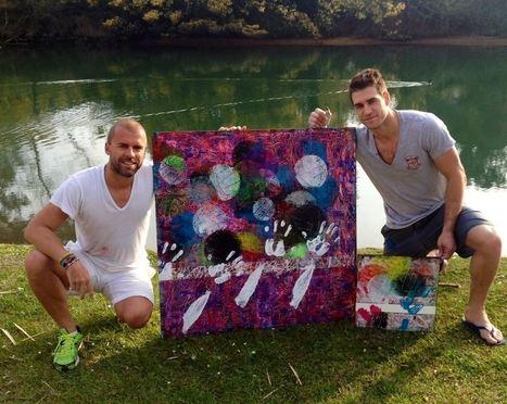 Grégory Berben associe «Art et Sport» | Insolites | Scoop.it