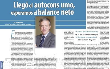 Electroeficiencia. Llegó el autoconsumo, esperamos el balance neto | UNEF | net metering | Scoop.it