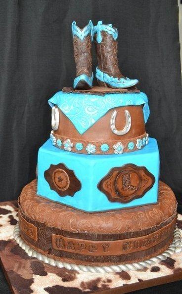 Western Cowgirl Birthday Cake | Desserts | Scoop.it