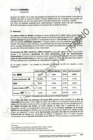 El Banco de España concluyó en 2011 que Bankia era muy solvente | Blog de Carlos Carnicero | Scoop.it