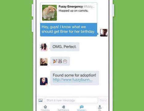 Nouveautés Twitter : discussions de groupe en privé et prise de vidéos sur mobile ! | Social Network & Digital Marketing | Scoop.it