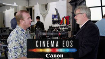 Tim Smith From Canon at Cine Gear 2013 via @cin...