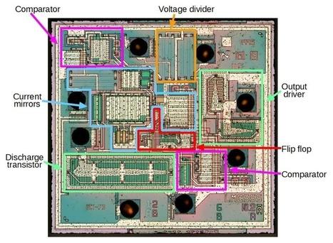 Reverse engineering the popular 555 timer chip (CMOS version) | Raspberry Pi | Scoop.it