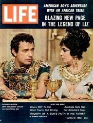 Liz Taylor and Richard Burton on the Set of 'Cleopatra': Rare and Classic Photos | Vintage and Retro Style | Scoop.it