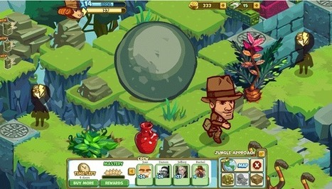 Lucasfilm's Indiana Jones Ventures Into Social Gaming With Zynga's Adventure World | Smart Media | Scoop.it