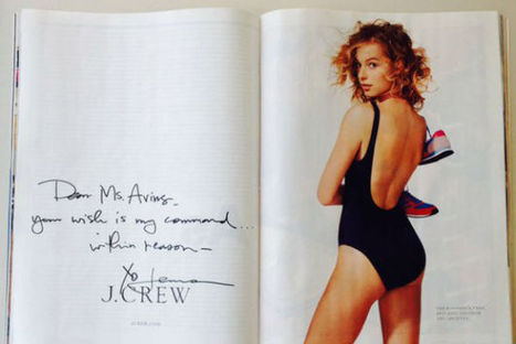J. Crew's Hand-Written Ad Is Customer Service Perfection - PSFK | Universal curiosity, appreciation and imagination. | Scoop.it