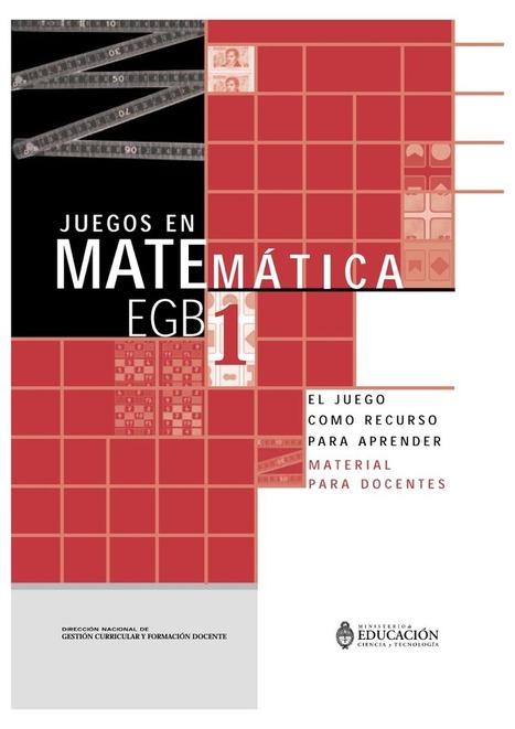 Libro juegos didacticos para aprender matematicas.pdf | Aprendiendo a Distancia | Scoop.it