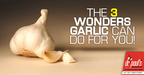 Benefits of Garlic for Skin, Hair and Weight Control | Skin Care | Scoop.it