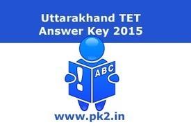 Uttarakhand TET Answer Key 2015 | UTET Solved Paper | JobsResult.in | Scoop.it