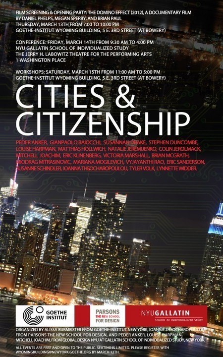 Symposium: Cities and Citizenship | flânerie | Scoop.it