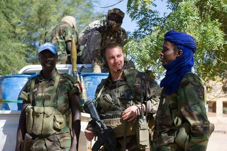 Serval : Actions civilo-militaires à Tessalit | GUERRE AU MALI - FRENCH MILITARY OPERATIONS IN MALI | Scoop.it