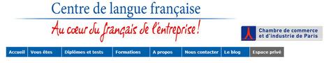 Le blog langue française de la CCIP | TICE & FLE | Scoop.it