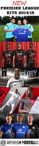 New Premier League Kits 2014/15 | Football | Scoop.it
