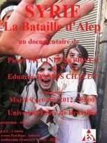 "Documentaire : ""La Bataille d'Alep"" | Facebook | A Piece of…ART | Scoop.it"