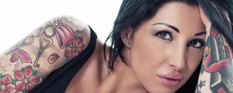 Greta, &egrave; di Como Miss tatuaggio <br/>Ragazza copertina di Tattoo Italia   Tattoo Tattoo Convention and more   Scoop.it