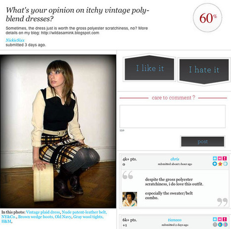 Fashionotes - Our Top 10 Crowdsourced Fashion Sites | Fashion Ecommerce | Scoop.it
