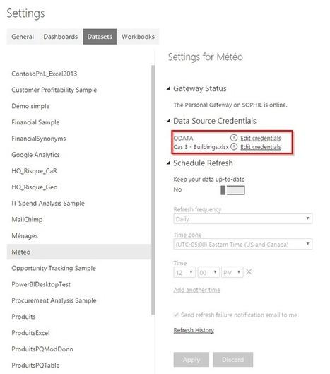 Power BI: Rafraîchissement automatique de fichiers Excel   Intelligence d'affaires   Scoop.it