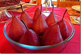 BAKING IN FRANGLAIS: PEARS IN RED WINE | Candy Buffet Weddings, Events, Food Station Buffets and Tea Parties | Scoop.it