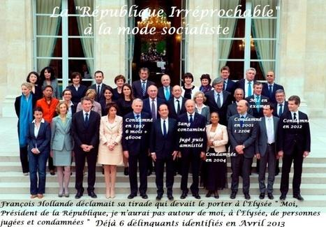 Listes des 57 CONDAMNÉS  toujours EN POSTE au Gouvernement ou au Parti Socialiste | Pour une démocratie collaborative | Scoop.it