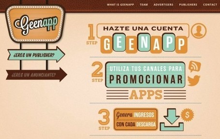 Geenapp – Gana dinero divulgando apps para móviles en tu blog, twitter, facebook… | ICT hints and tips for the EFL classroom | Scoop.it