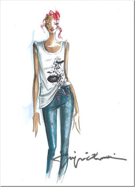 The colours of my closet - Blog di moda, fashion e tendenze: News in the closet // Rihanna e Giorgio Armani: capsule collection! | tricky fashion | Scoop.it