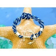 Anchor Knot Bracelet | The Stylish Sea | Scoop.it