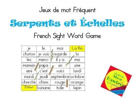 What I learned at school today: Games and activities for reinforcing sight words. | Primary French Immersion Education | Scoop.it