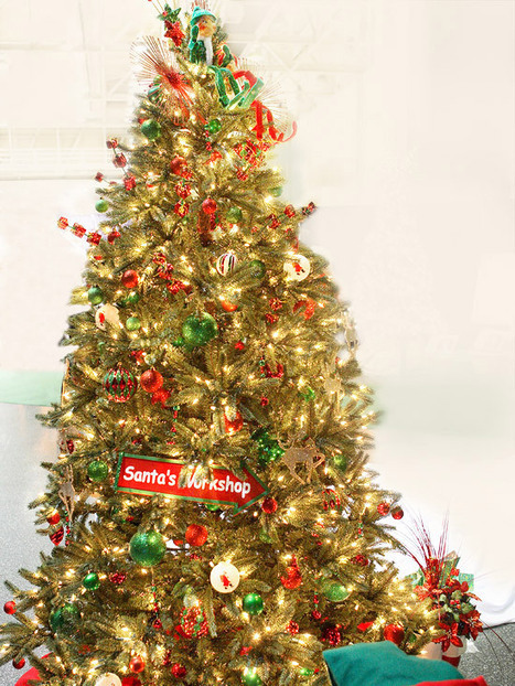 Creative Christmas Tree Themes | Fun Facts: Pre Lit Artificial Christmas Trees Walmart Has | Scoop.it