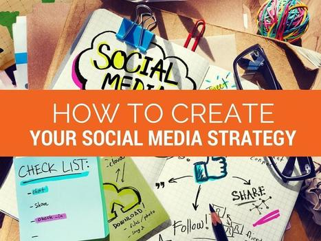 How to Create Your Social Media Strategy | networking people and companies | Scoop.it