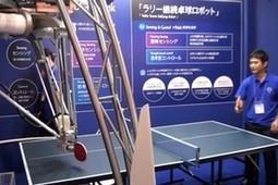 Vidéo : un drôle de robot japonais... qui joue au ping-pong   Robolution Capital   Scoop.it