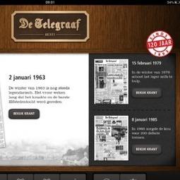 120 ans d'archives sur l'iPad | DocPresseESJ | Scoop.it