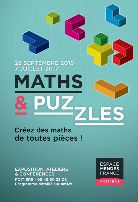 » Exposition « Maths & puzzles » | Espace Mendes France, Poitiers | Scoop.it