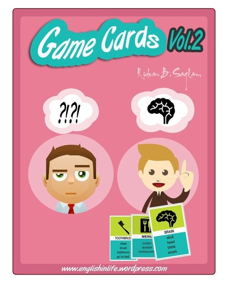 Game Cards Vol. 1&2 | English In Life | Scoop.it