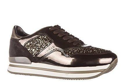 Hogan scarpe sneakers donna in pelle nuove h222 sportivo xl allacciato oro EU 37 HXW2220N624DZC0XDJ su www.kellieshop.com | kellieshopsales | Scoop.it