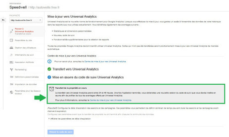 Transfert d'un compte Google Analytics vers Universal Analytics (nouvelle version) | Search engine optimization : SEO | Scoop.it