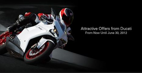 Special Offers from Ducati | Ducatiusa.com | Ductalk Ducati News | Scoop.it