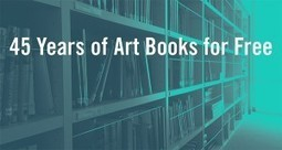 New Virtual Library Offers over 250 Art Books for Free Download|The Getty Iris | Digital information and public libraries | Scoop.it