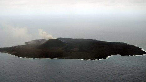 #Volcano forms new Japanese #island #Nishinoshima | Mr Tony's Geography Stuff | Scoop.it