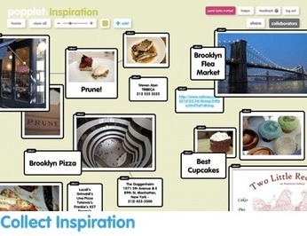 Popplet - Collect, create and collaborate. | Curriculum resource reviews | Scoop.it