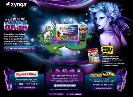 GagaVille: Lady Gaga's FarmVille Campaign | Social Media Guru | Scoop.it