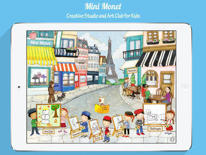 Encourage Creativity in Your Kids by Using the Mini Monet App | Mile High Mom | Innovation | Scoop.it