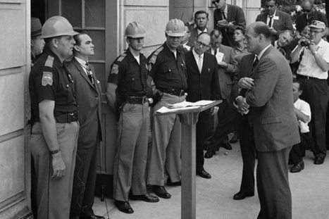 George Wallace Stood in a Doorway at the University of Alabama 50 Years Ago Today - US News | civil rights | Scoop.it