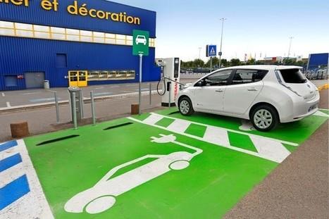 Pour découvrir les Nissan électriques, allez chez Ikea | ParisBilt | Scoop.it