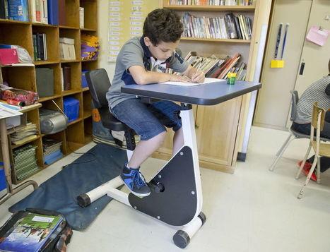 Des vélos-pupitres pour les jeunes hyperactifs | Troubles spécifiques des apprentissages | Scoop.it