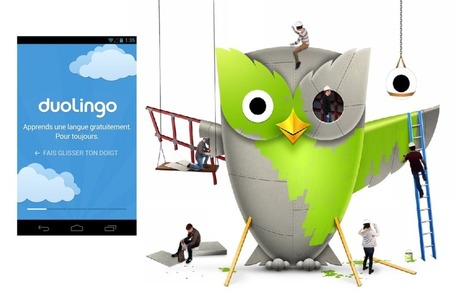 L'application du jour : Duolingo | Web | Scoop.it