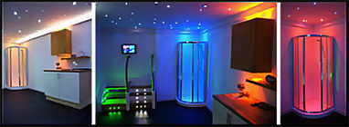 LED Lights for use in the Bathroom, Kitchen, Shower or Decking. Colour Changing. | Greening your home | Scoop.it