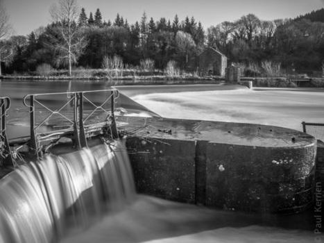 Toilapol - Bretagne - Finistère :  que d'eau, que d'eau à l'écluse de Coatigrac'h à Chateaulin (4 photos)   photo en Bretagne - Finistère   Scoop.it