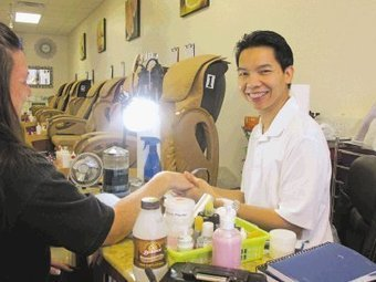 Nail spa reopens after fire - Marshall News Messenger | meganr8 | Scoop.it