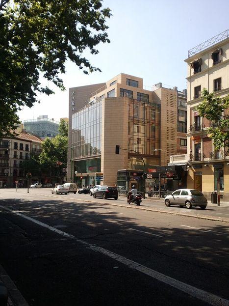 Tienda Zara Madrid - Calle Princesa   Marks & Spencer and Zara   Scoop.it